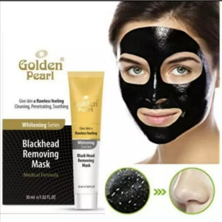 Golden Pearl Black Head Removing Mask (Premium Quality) Special Price