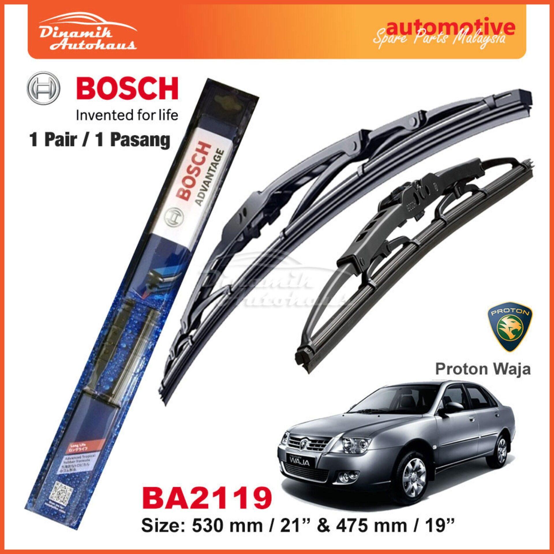 Proton Waja Car Windshield Wiper Blade 21  / 19  Bosch Advantage BA2119