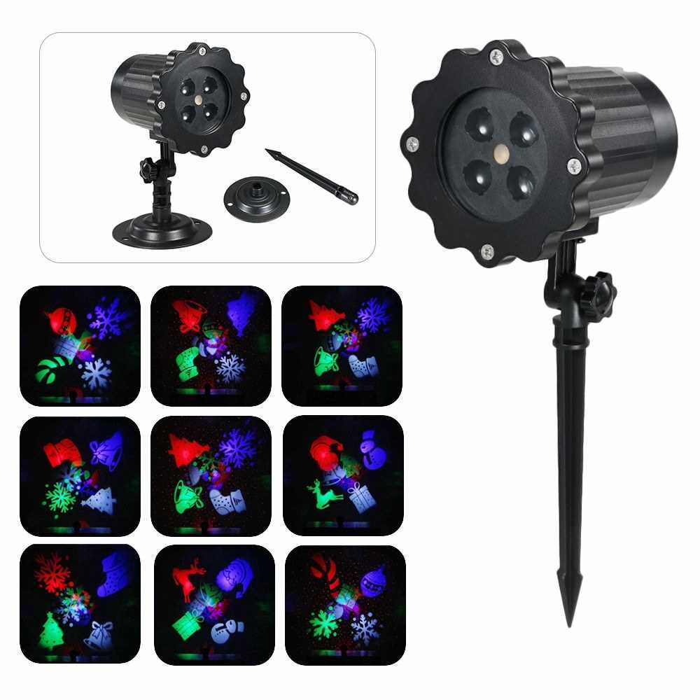 Projection Light Animated Led Projector Light Christmas Halloween Projector Lights Decorative Lighting for Holiday Party Home Yard Garden UK (Uk)
