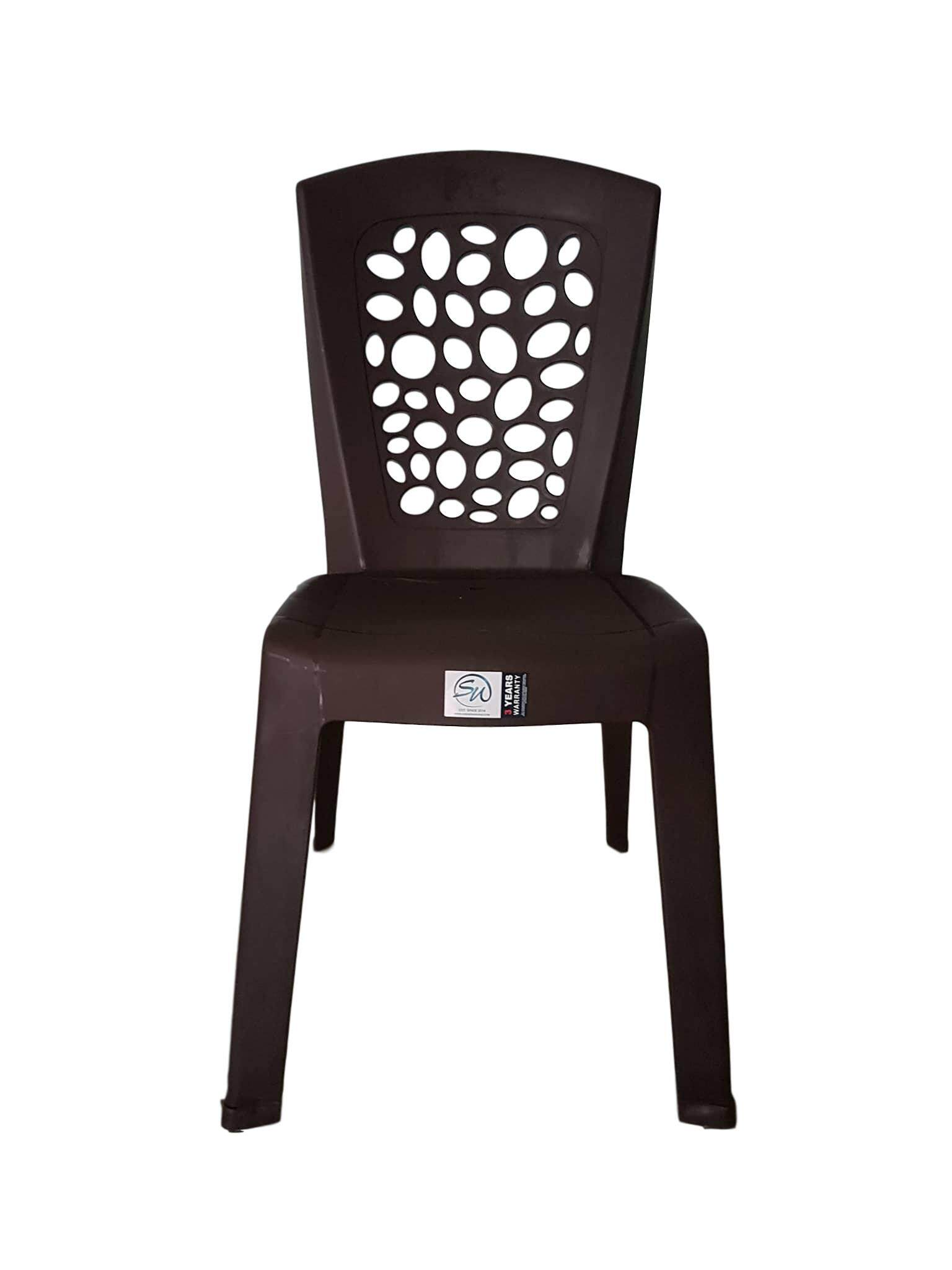 Plastic Chair -Cafe style- Total 4 Units