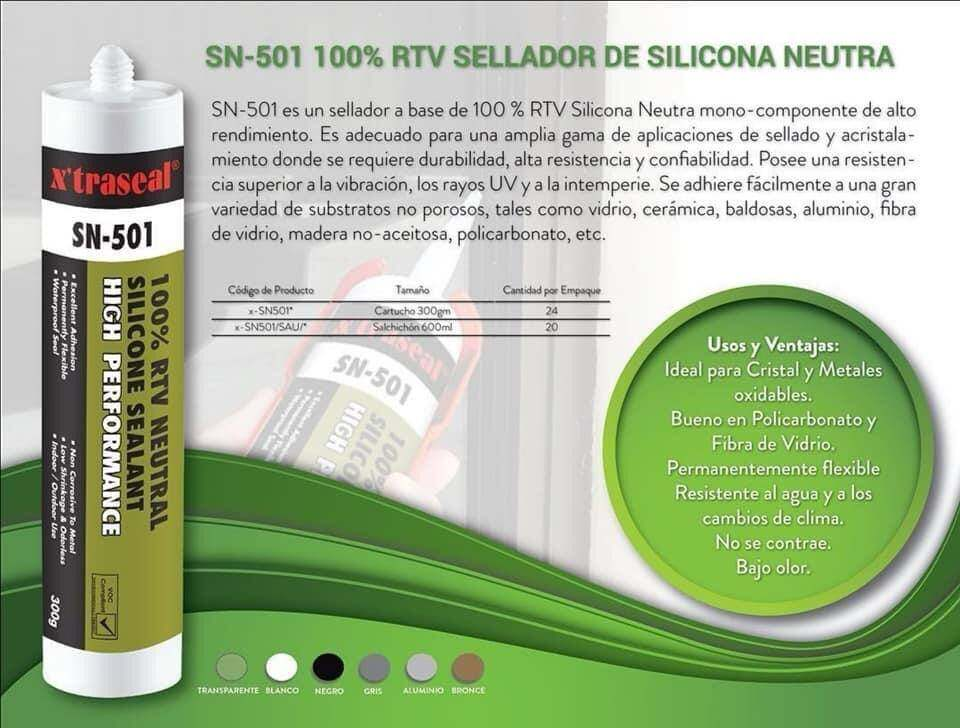 X'traseal SN-501 100% RTV Neutral Silicone Sealant High Performance