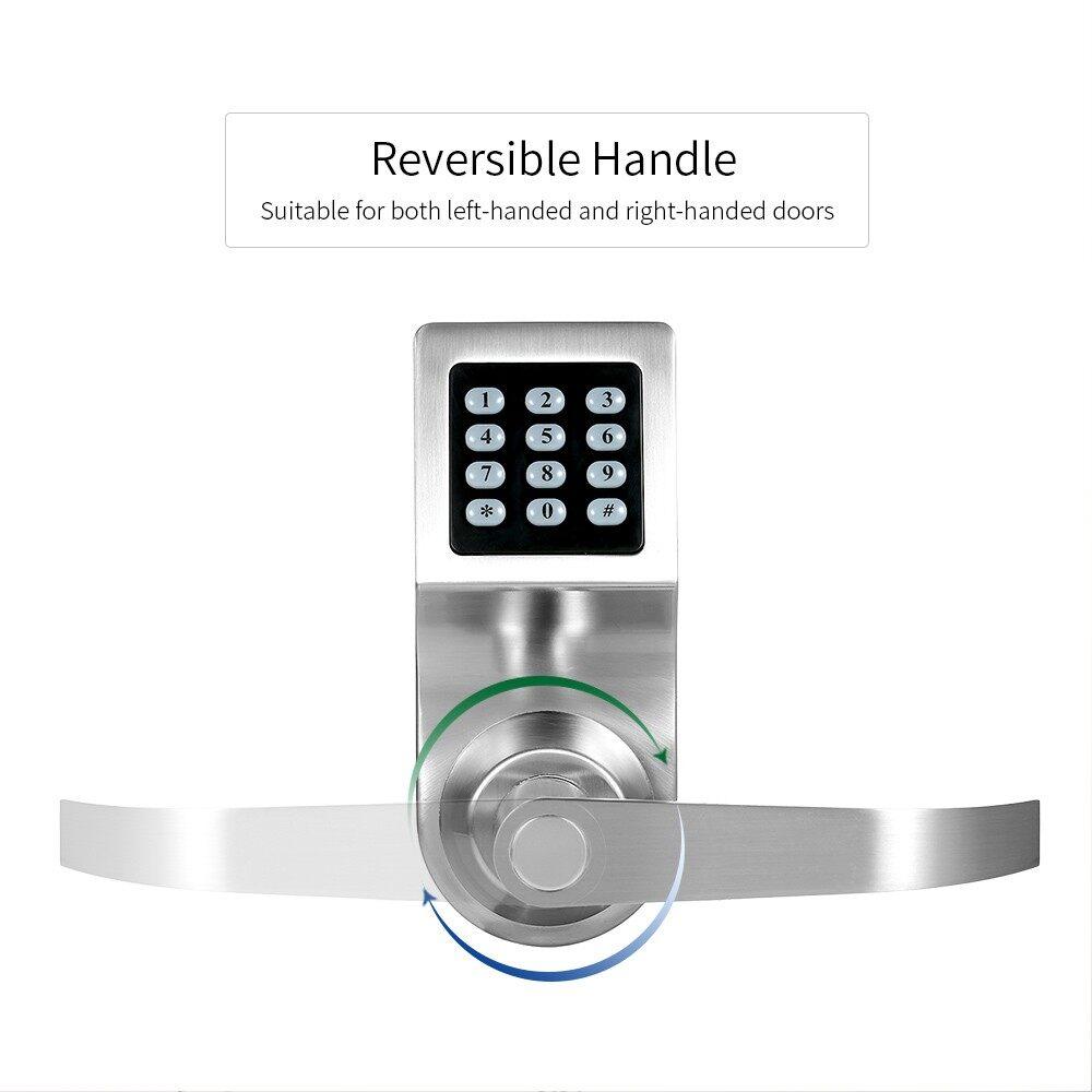 Sensors & Alarms - 4-in-1 Electronic Keyless Keypad Door Home Security - Security Surveillance
