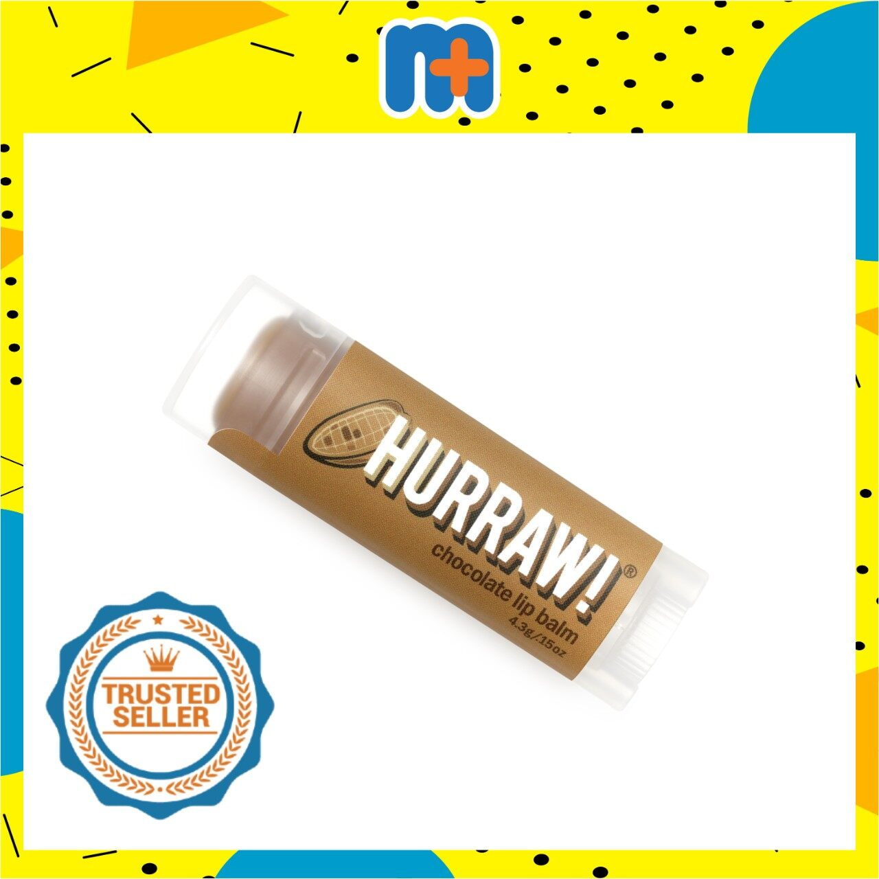 [MPLUS] HURRAW CHOCOLATE LIP BALM 4.8G
