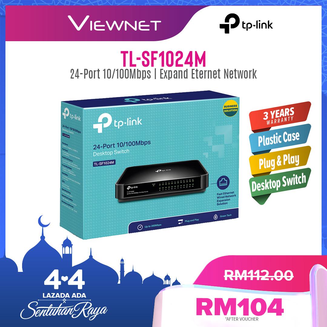 TP-Link STD 24-Port Plastic Switch (TL-SF1024M)
