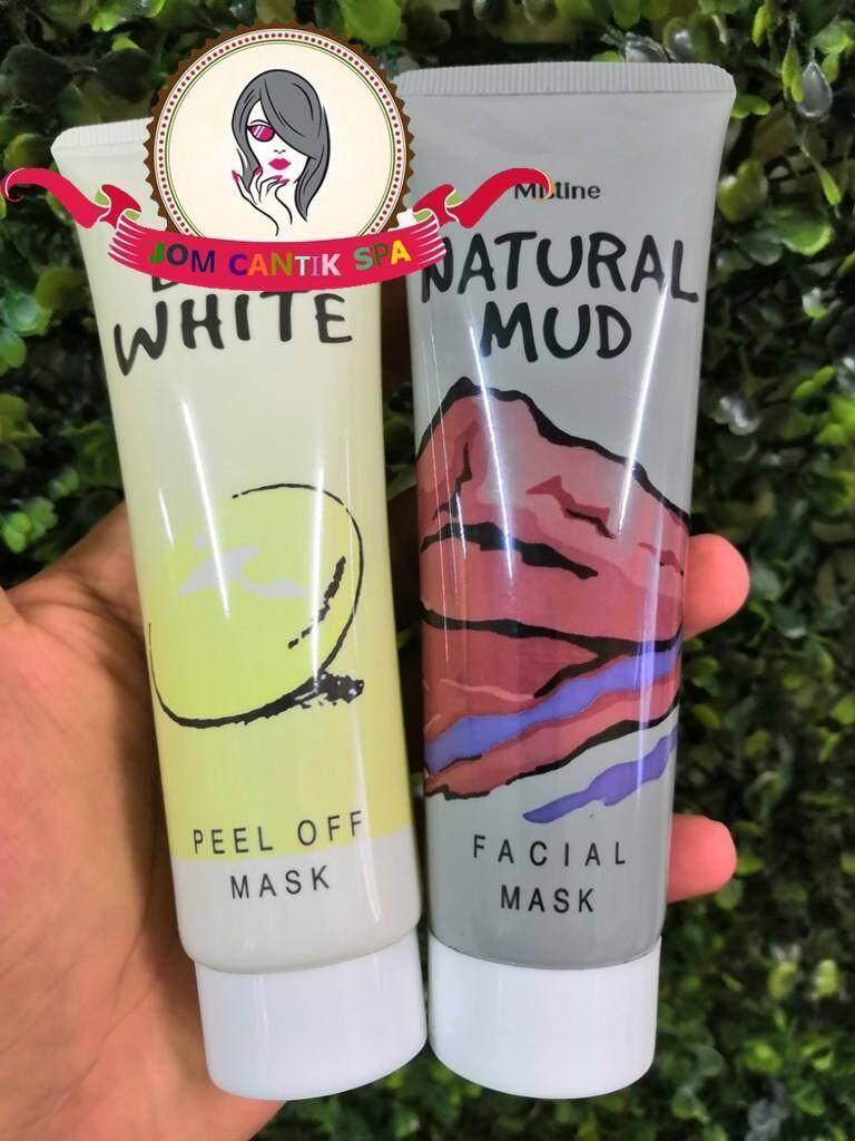 MISTINE EGG WHITE & NATURAL MUD PEEL OFF MASK (85g)