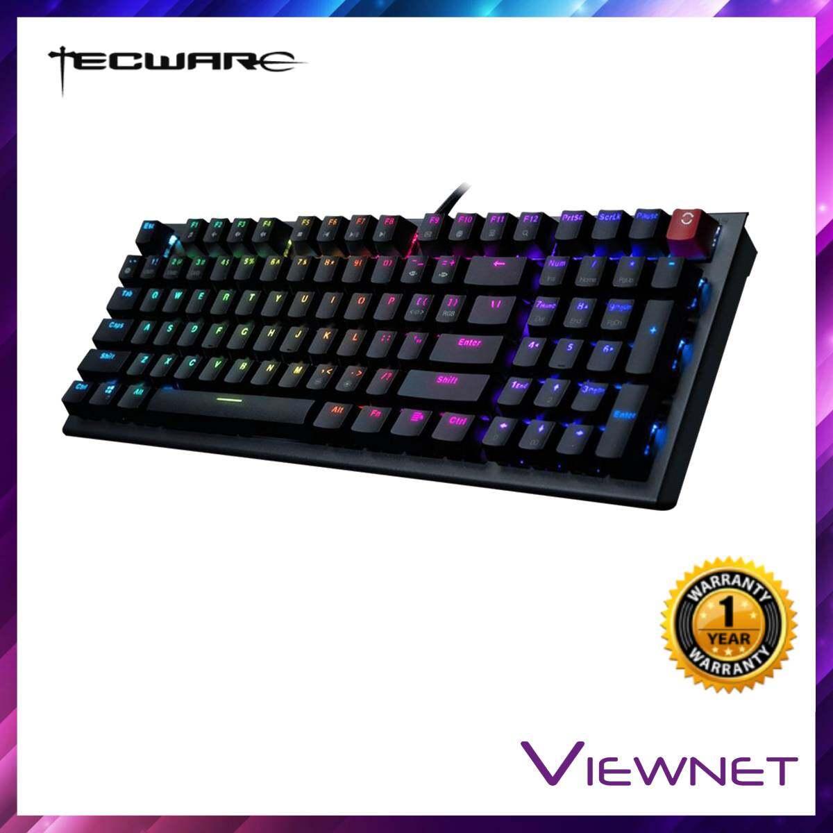 Tecware Phantom 96 Wired Mechanical RGB Blue/Brown/Red Switch Keyboard (TW-KB-P96-ZOBL/TW-KB-P96-ZOBR/TW-KB-P96-ZOBD)