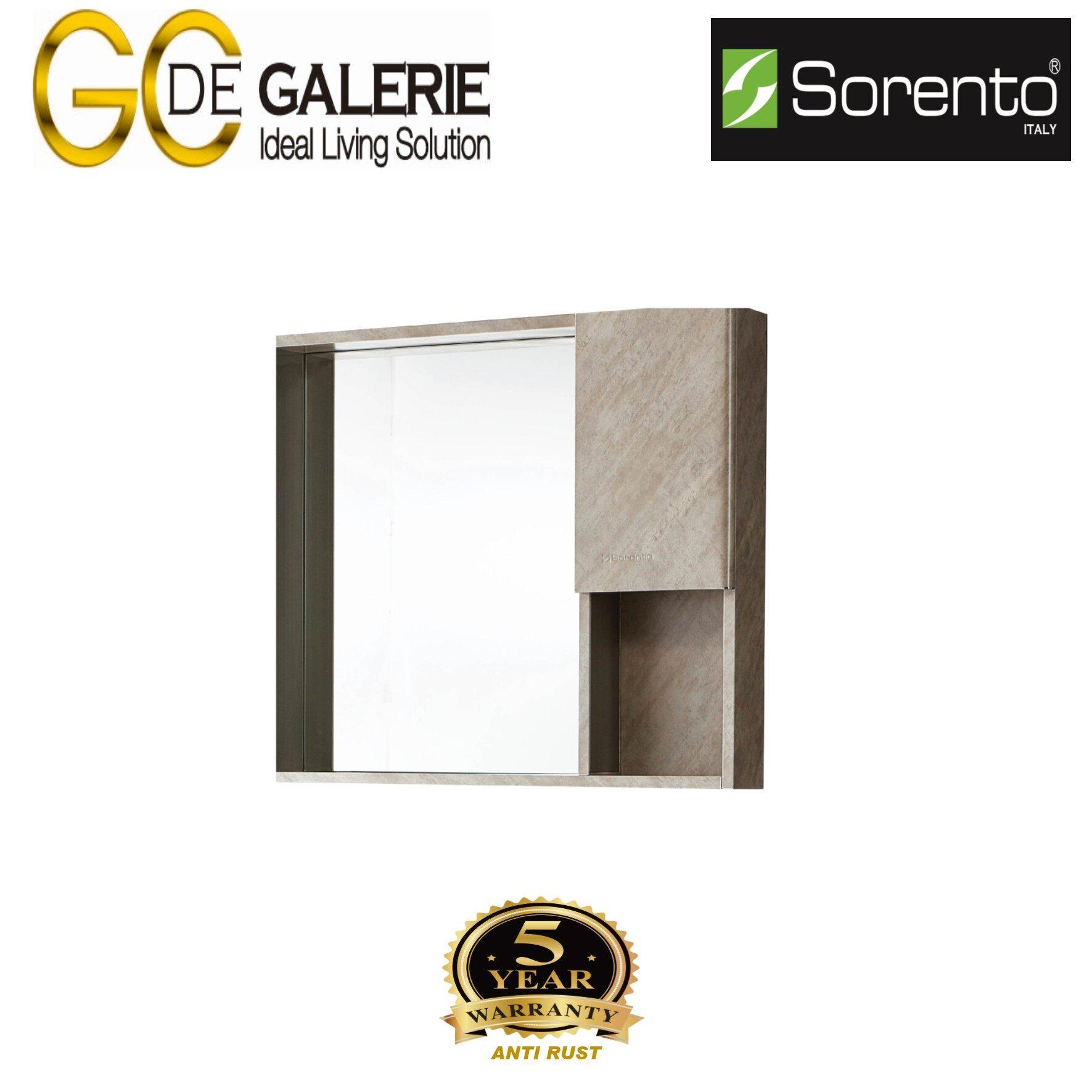 Sorento SRTMCB21825 Bathroom Stainless Steel Mirror Cabinet