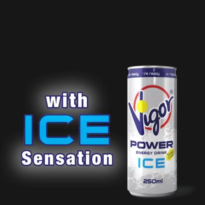 VIGOR Power Energy Drink (Iced) (250ml x 1tin)
