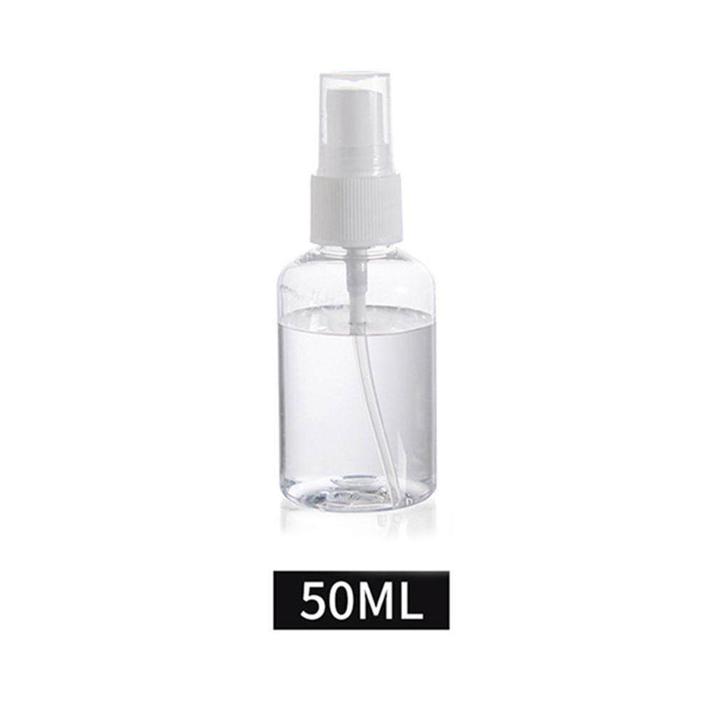 30/50/75/100ml Transparent Empty Spray Bottles Plastic Mini Refillable Container Empty Cosmetic Containers