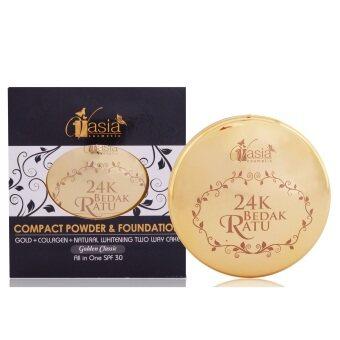24K Bedak Ratu Compact Powder & Foundation (Golden Classic)