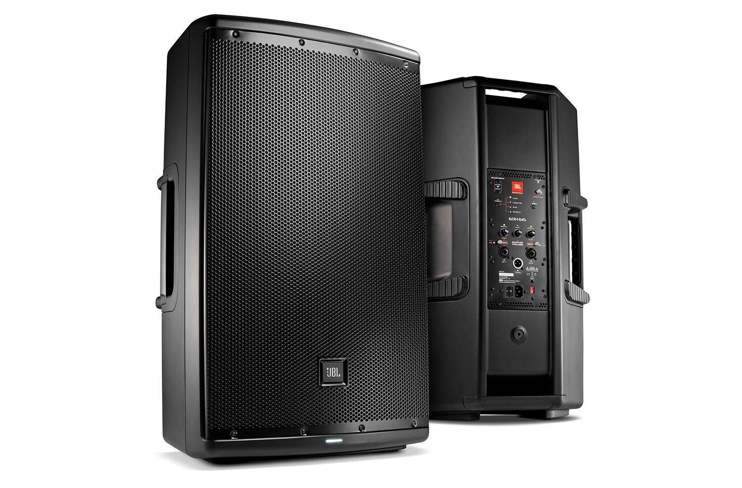 JBL EON615 1000W 15 Inch 2-Way Powered Speaker System With Bluetooth Control