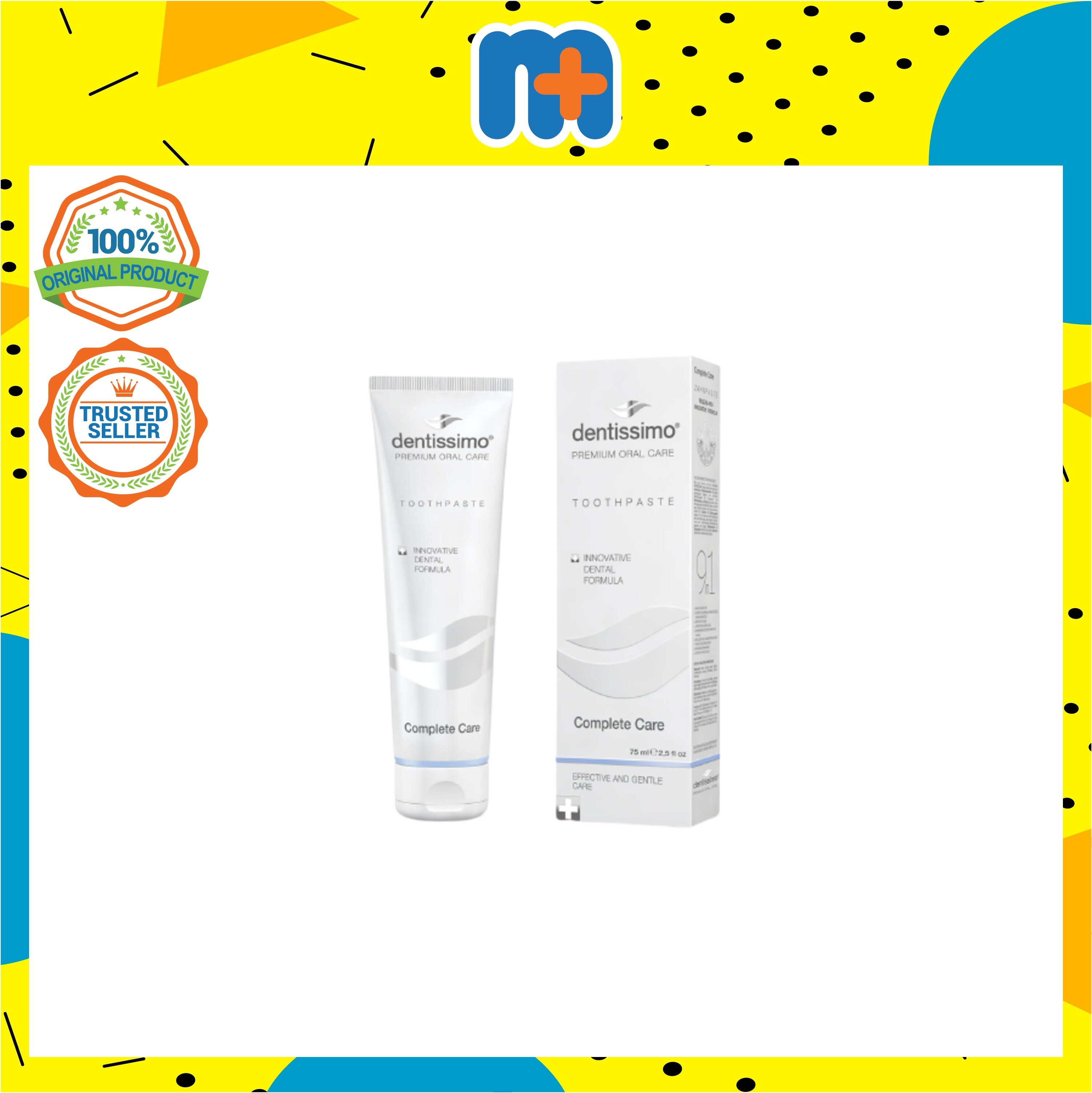 [MPLUS] DENTISSIMO Toothpaste Complete Care 75ml