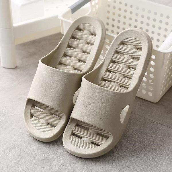 Anti Slippery Bathroom/Indoor Slipper with HOLE-GREY