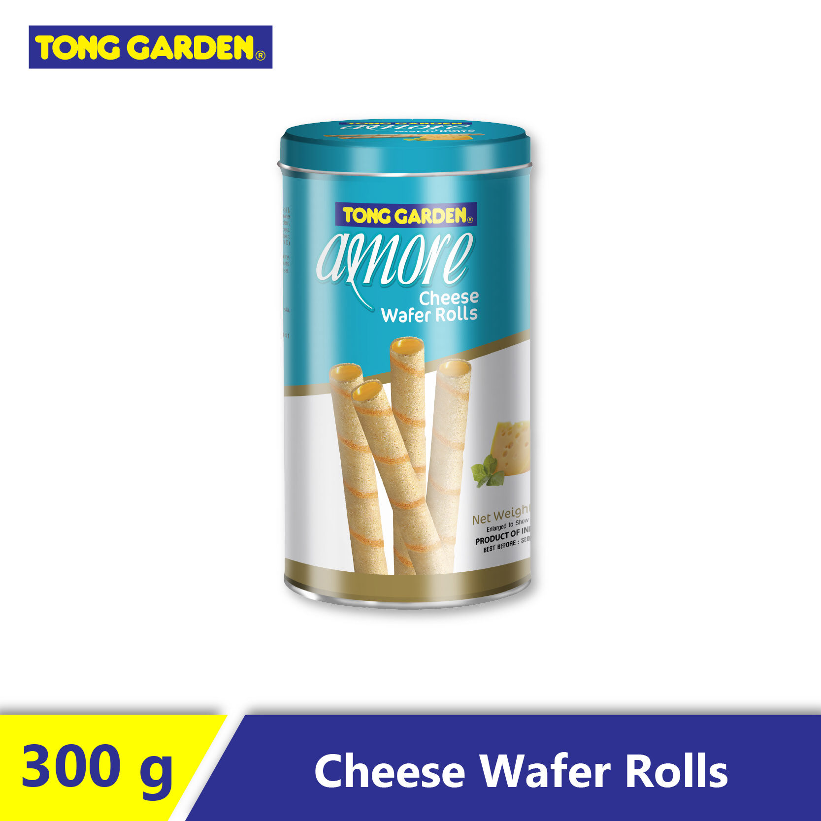 AMORE Cheese Wafer Roll 270g