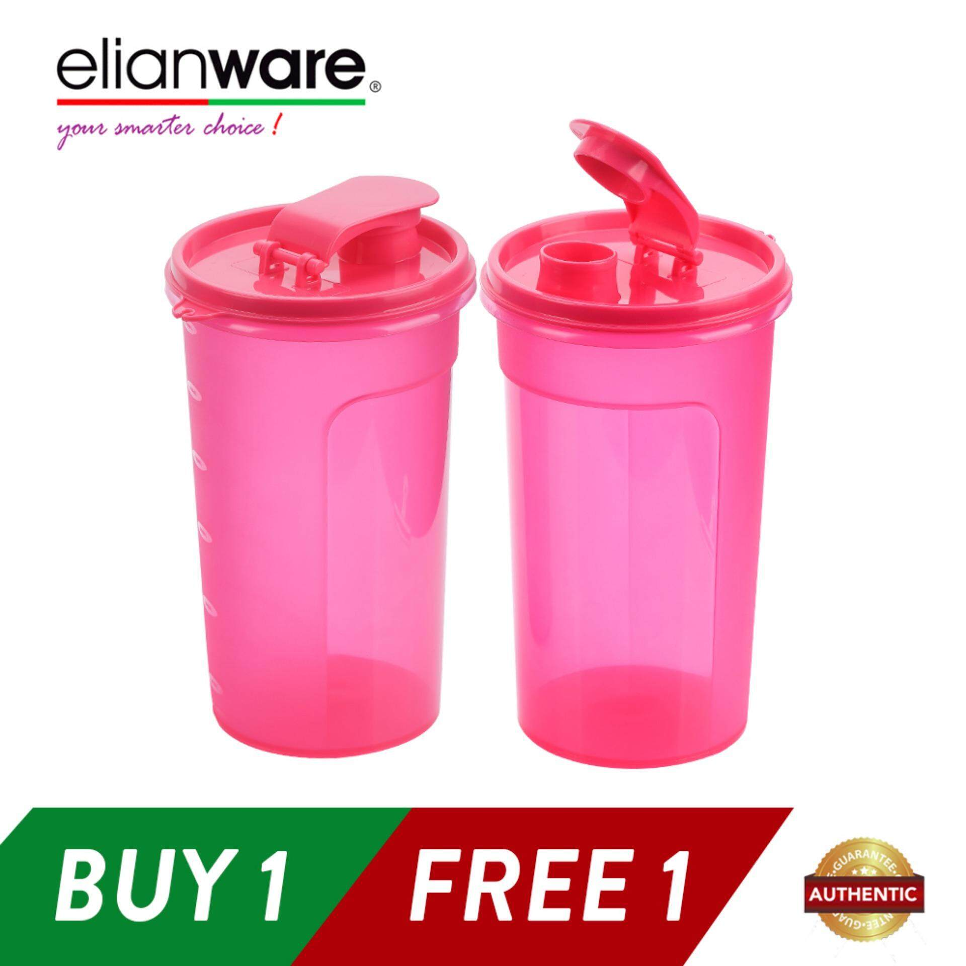 Elianware (BUY1 FREE1) 1.1 Ltr Best Seller Handy Cool E-Fresh BPA Free Water Tumbler Bottle