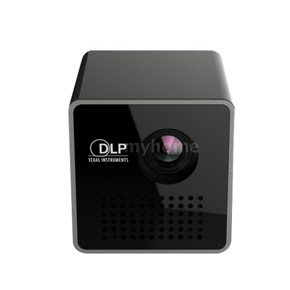 Printers & Projectors - P1 1080P Projector Pocket Home Movie Projectors Beamer Battery MINI LED Projector - #