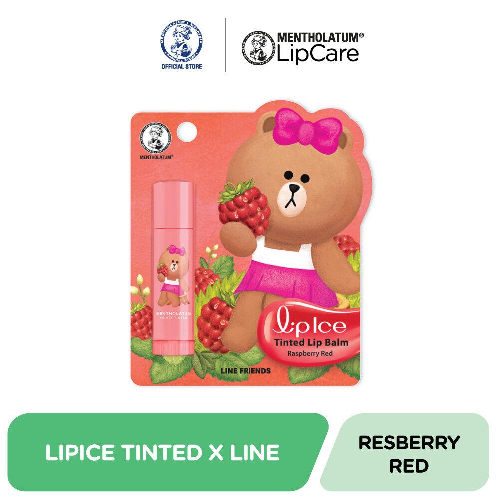 Lipice Tinted Lipbalm Raspberry Red