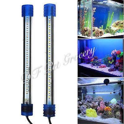 Aquarium Waterproof LED Light Fish Tank Submersible Down Light - Pink 27.5cm+-  (TK4G-30LED)