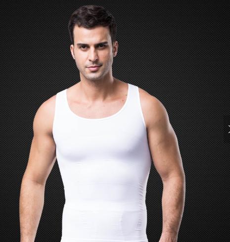 Slim n Lift Body Shaper Vest Slimming Shirt for Men Undergarments