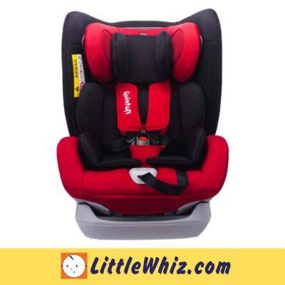 Quinton: Max Air Convertible Car Seat - RED