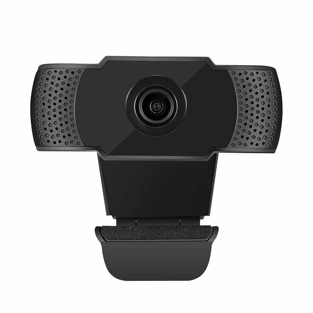 Webcam 1080P USB Web Camera PC Camera with Microphone for Online Teaching live Streaming Business Meeting Plug and Play for PC, Desktop or Laptop (Standard)