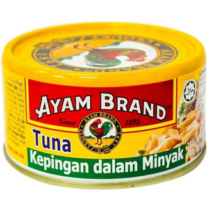 Ayam Brand Tuna Flakes in Oil  150g