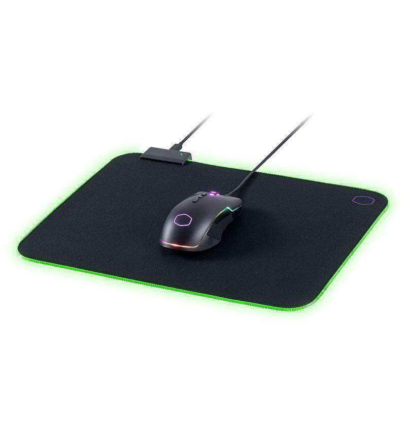 Cooler Master Master MP750 Soft RGB Mouse Pad (Medium, Large, Extralarge), Water resistance, Extra Thick, Smooth, Battle-filed surface.