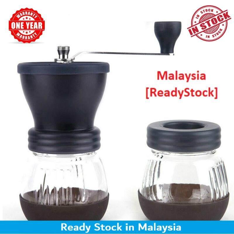 Manual Ceramic Coffee Grinder ABS Ceramic Core Stainless Steel Grinder