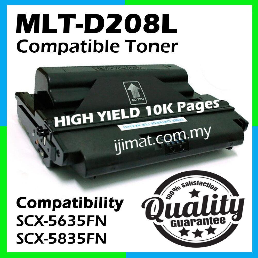 Samsung MLT-D208L / MLTD208 / 208L Compatible Laser Toner Cartridge For Samsung 5635 / SCX5635 / SCX5635FN / SCX-5635FN / 5835 / SCX5835 / SCX5835FN / SCX-5835FN Printer Toner