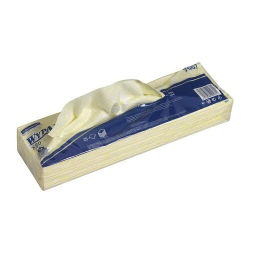 [Ready Stock] Wypall 07568 X80 Colour Coded Wiper 25 sheets/ pack - Hydroknit (HACCP compliant, Food Safety, Cafe, Restaurant, Food Processing Factory)