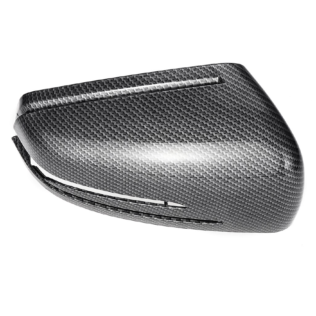 Engine Parts - L+R Side Wing Mirror Cover Cap For Mercedes W212 W176 W246 W204 W221 CLS GLA - Car Replacement