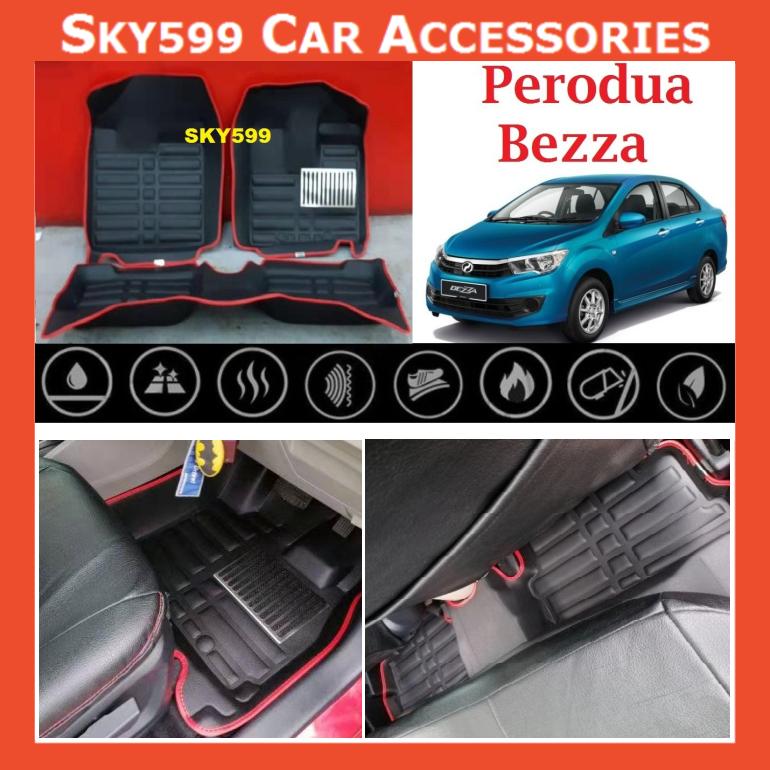 Perodua Bezza 5D Car Floor Mat/Carpet