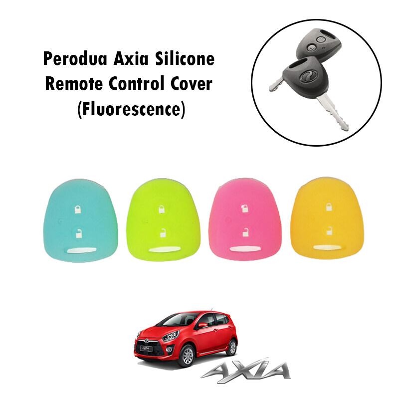 Perodua Axia Silicone Remote Control Cover Only (Fluorescence)