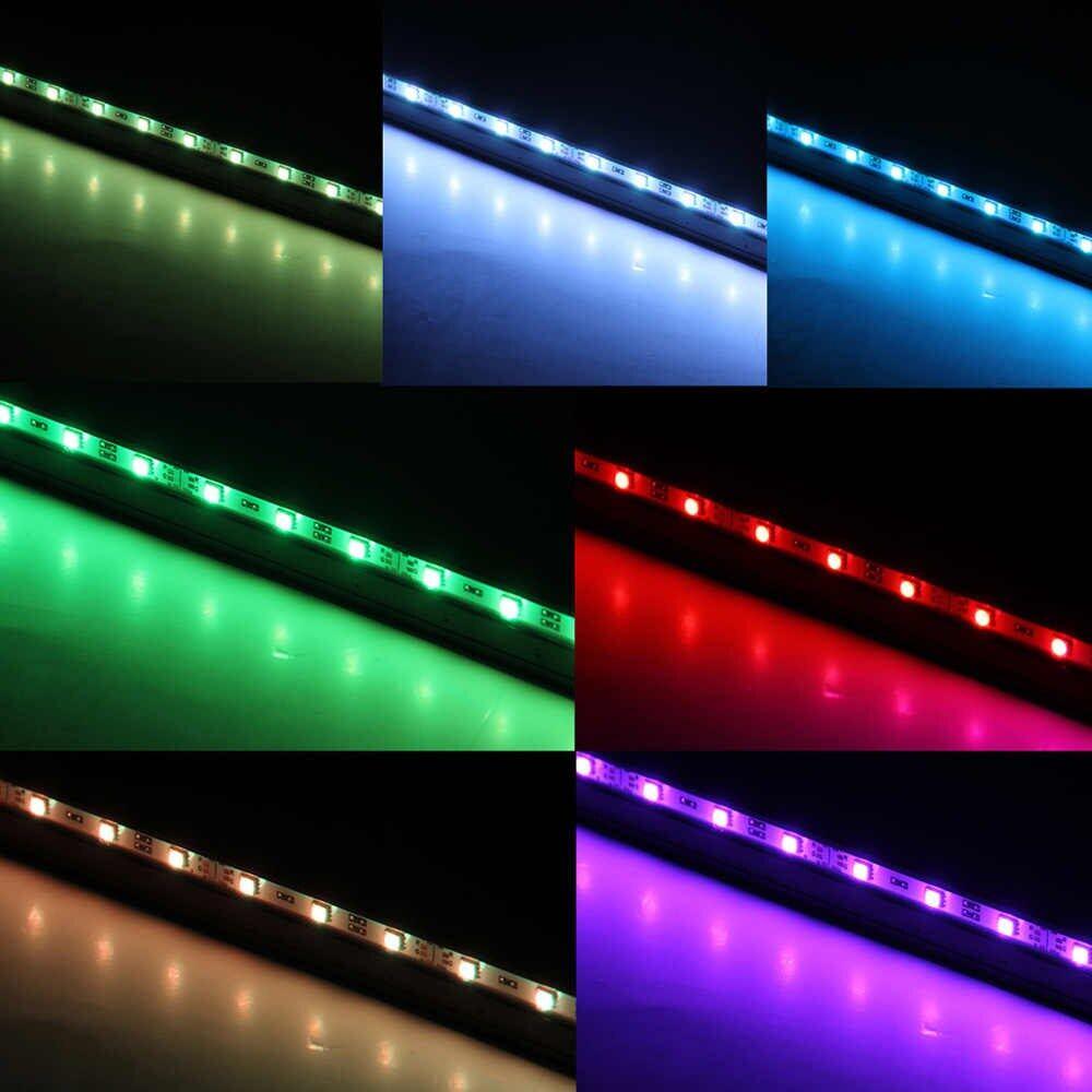LED 7 Colors Change Aquarium Light Fish Bowl Submersible Light Air Bubble Lamp (DB15-EU version)