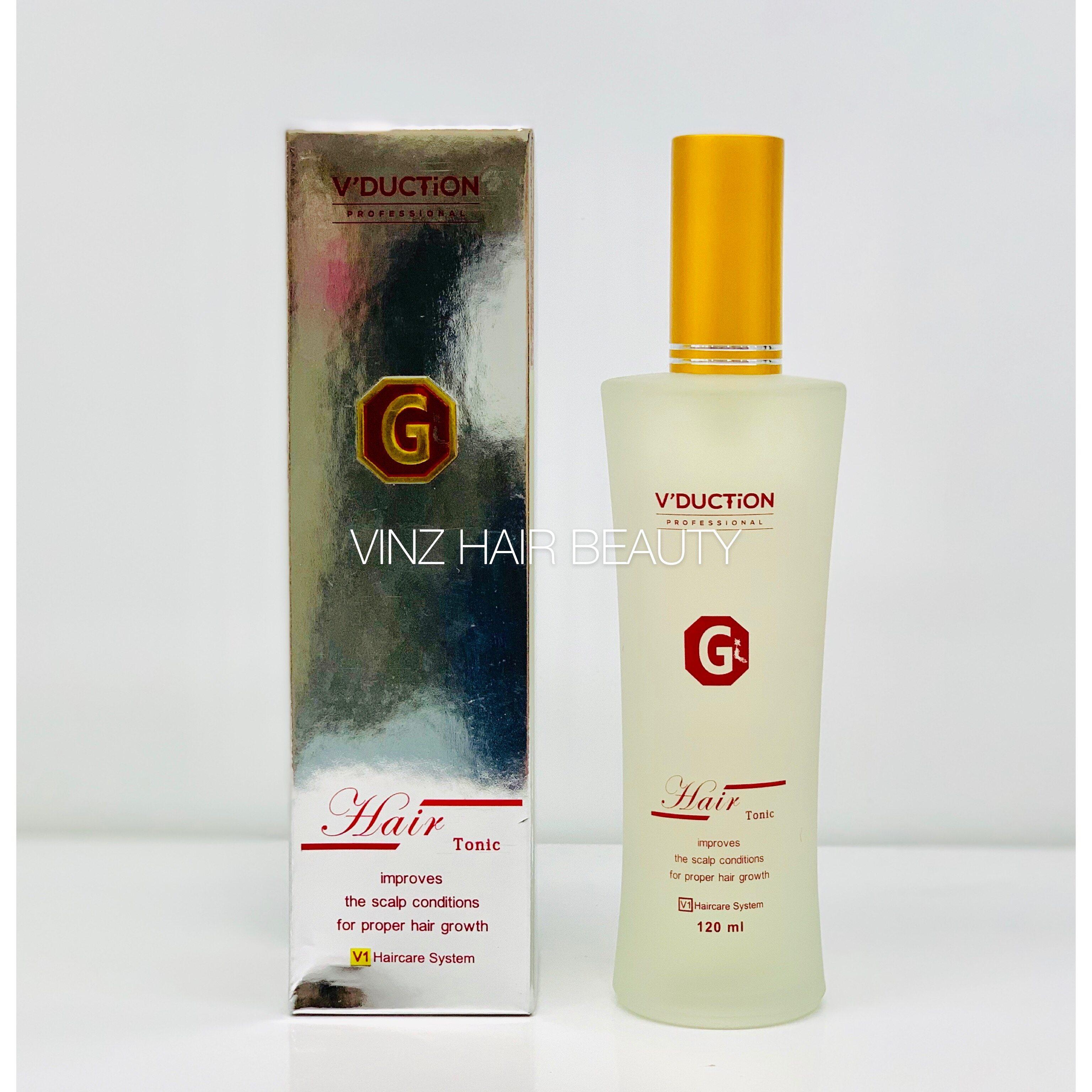 V'DUCTION Professional Hair Tonic 120ML
