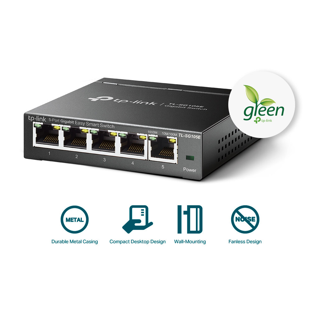 TP-Link GGB 5-Port Easy Smart Switch (TL-SG105E)