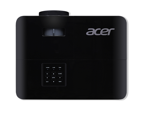 Acer Projector X1127i with SVGA (800x600) Resolution, 4000 Ansi Lumens, 20,000 : 1 Contrast Ratio, Eco Mode 15,000 Hour Lamp Life, HDMI and VGA Support