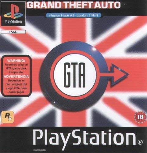 PS1 Grand Theft Auto London 1969 / GTA London 1969