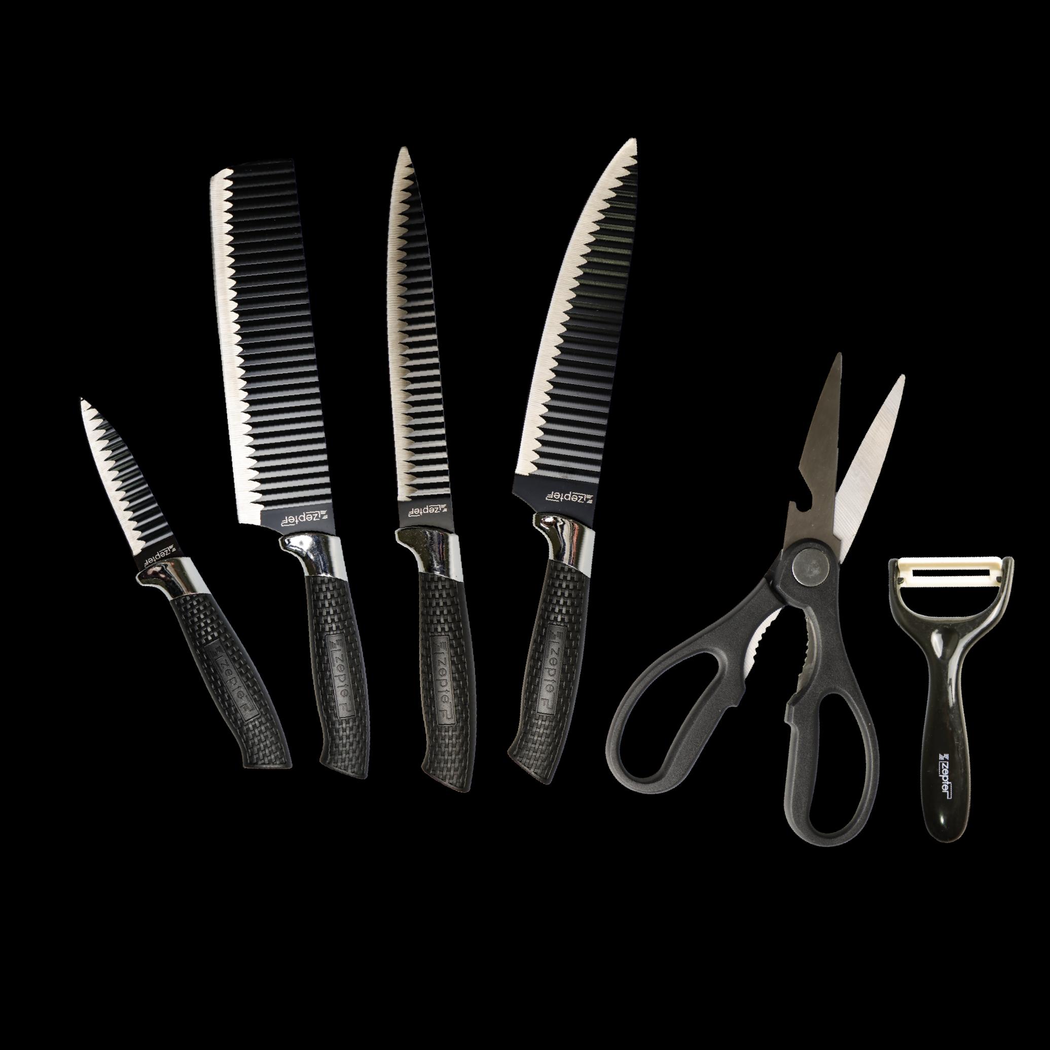 [My Cooking Story / MyCookingStory] ZEPTER PROFESSIONAL 6PCS KNIFE SET