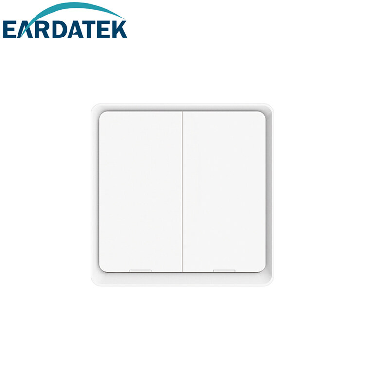 [TUYA Eardatek Smart Wireless Switch MC Series] Smart Wall Switch Panel Touch Panel Clicky Mechanical Intelligent Mobile App AI Control