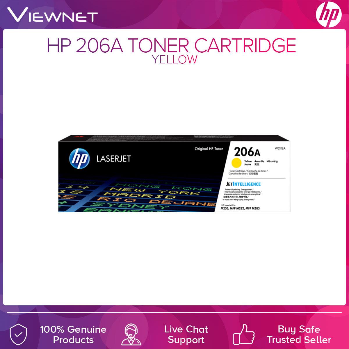 HP 206A Original LaserJet Toner Cartridge Cyan Magenta Yellow Black W2110A W2111A W2112A W2113A