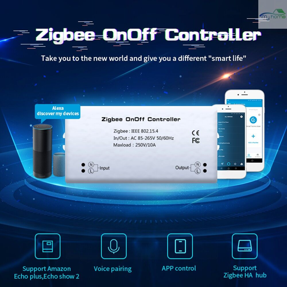 DIY Tools - Zigbee On/Off Controller S-mart Switch APP Remote Control Intelligent Home Module Light Dimmer - #