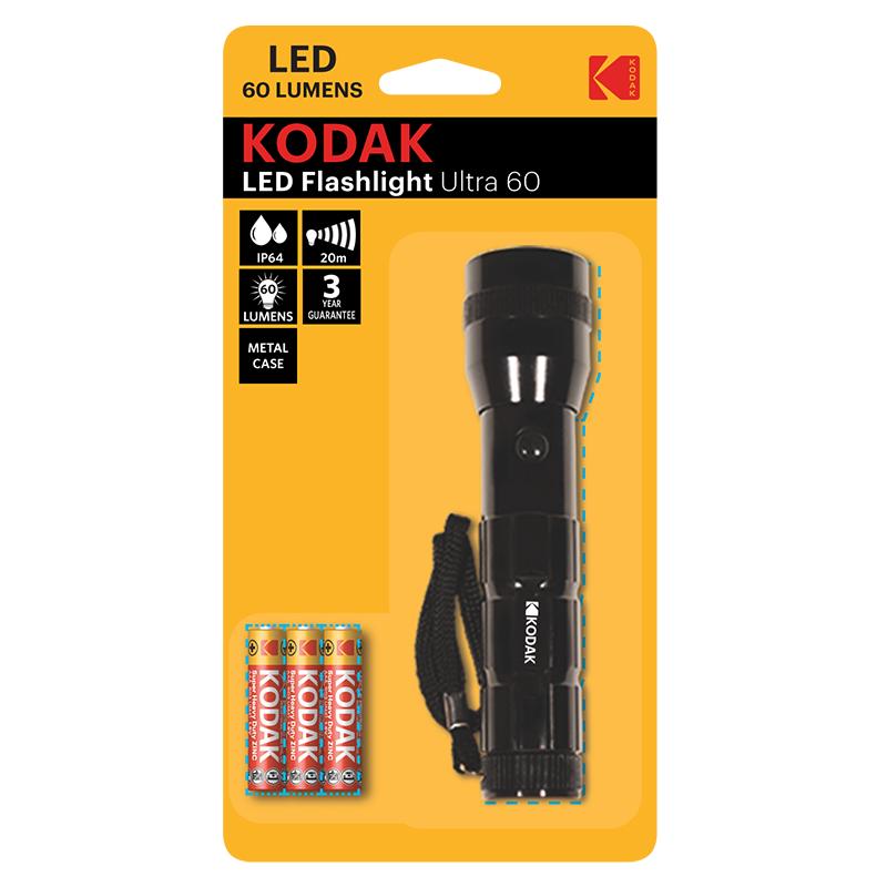 KODAK LED Flashlight Ultra 60