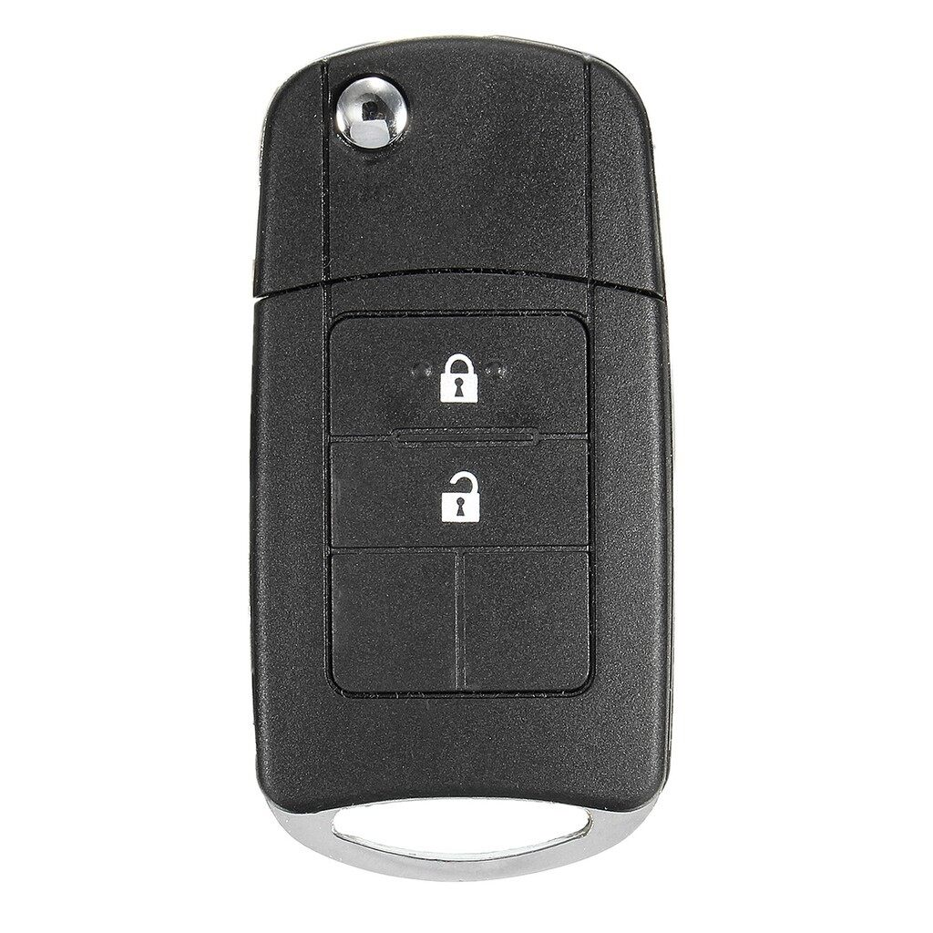 Automotive Tools & Equipment - 2 Buttons Flip Key Case Shell Uncut Blade For Toyota Camry Corolla Yaris Rav4 - Car Replacement Parts