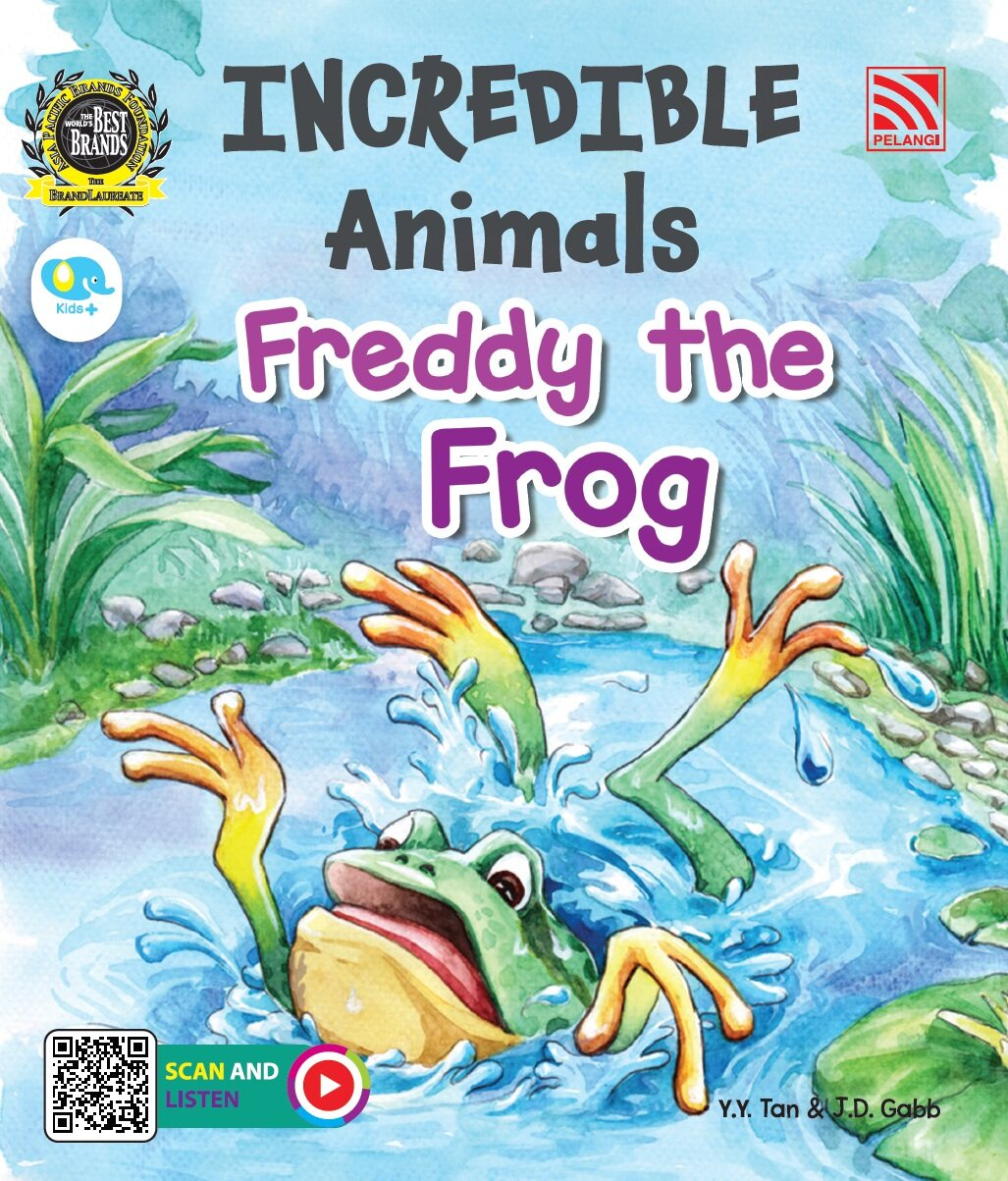 Pelangibooks Storybook Incredible Animals - Freddy The Frog