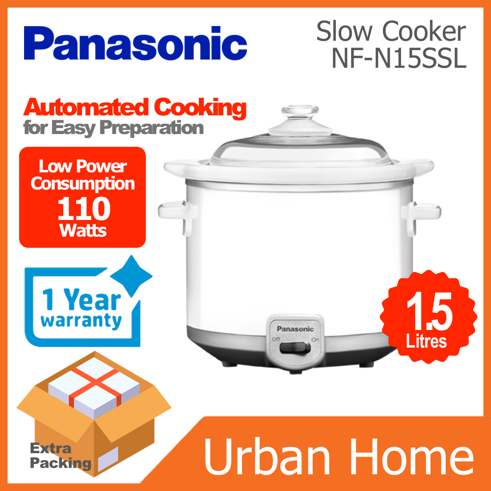PANASONIC 1.5L Slow Cooker (NF-N15SSL/NFN15SSL)
