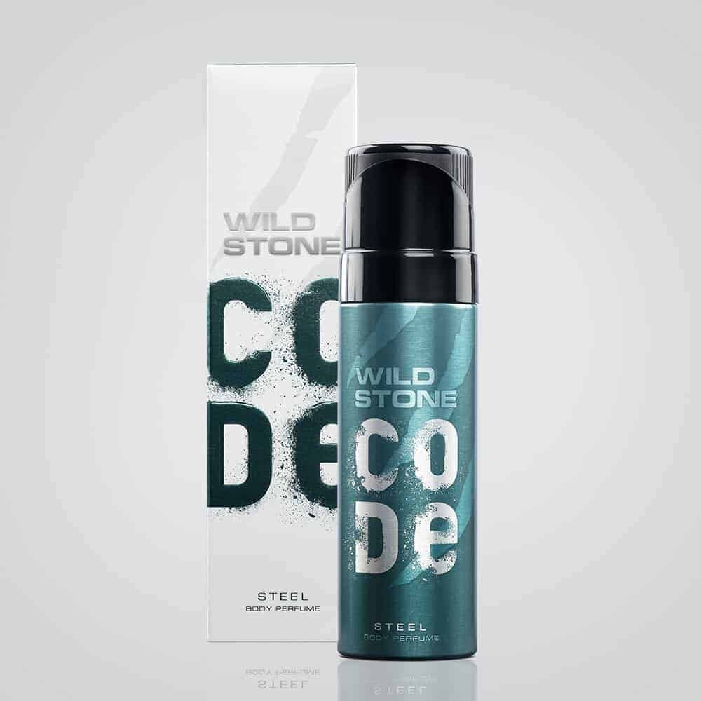 WILD STONE CODE STEEL BODY PERFUME- 120 ML