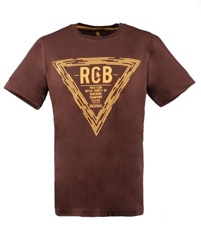 RCB POLO CLUB MEN ROUND NECK TEE RMRN10981-BB-0N4