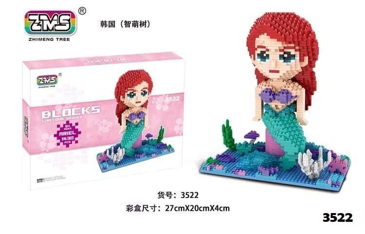 Princess Series Nanoblock Toys for boys