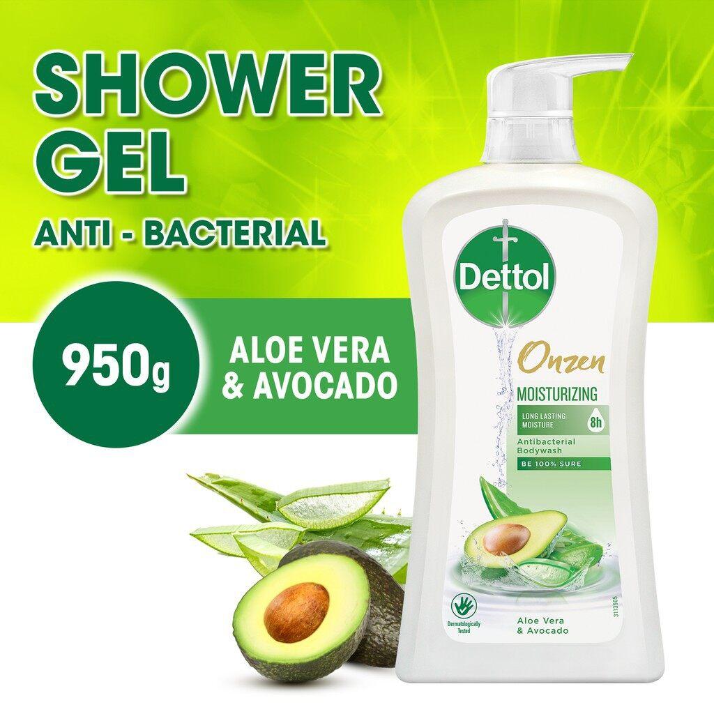 DETTOL Onzen Antibacterial Body Wash 950g - Moisturizing Aloe Vera & Avocado